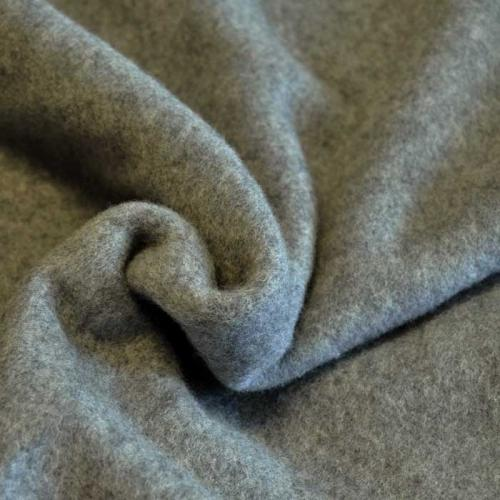 bio fleece grau meliert stoffbotin bio stoffe f r kreative n hprojekte. Black Bedroom Furniture Sets. Home Design Ideas