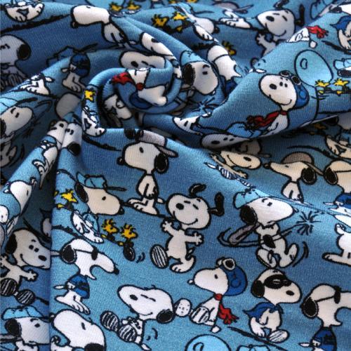 Bio-Jersey Snoopy mit Mütze - stoffbotin - Bio-Stoffe für kreative ...