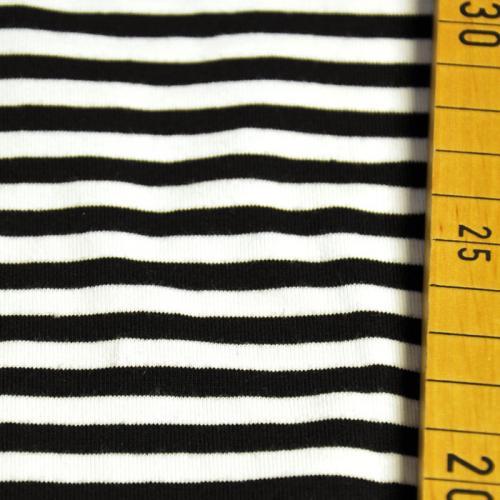 bio jersey streifen schwarz wei stoffbotin bio stoffe f r kreative n hprojekte. Black Bedroom Furniture Sets. Home Design Ideas