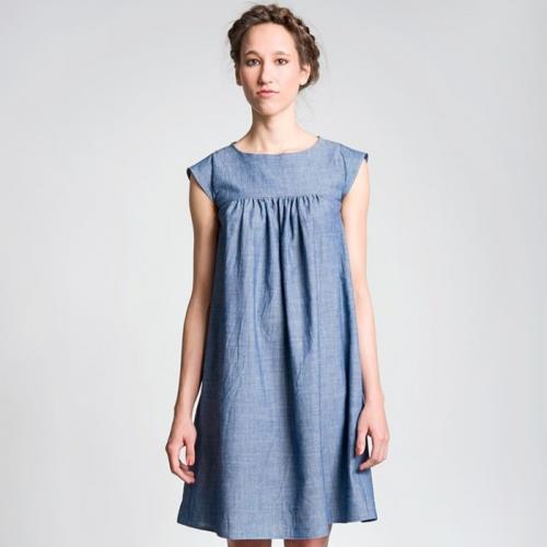 schnittchen-Schnittmuster Kleid Hannah - stoffbotin - Bio-Stoffe für ...