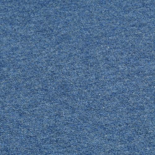 bio sweat blau meliert stoffbotin bio stoffe f r kreative n hprojekte. Black Bedroom Furniture Sets. Home Design Ideas