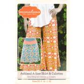 Schnittmuster Ashland A-line Skirt and Culottes